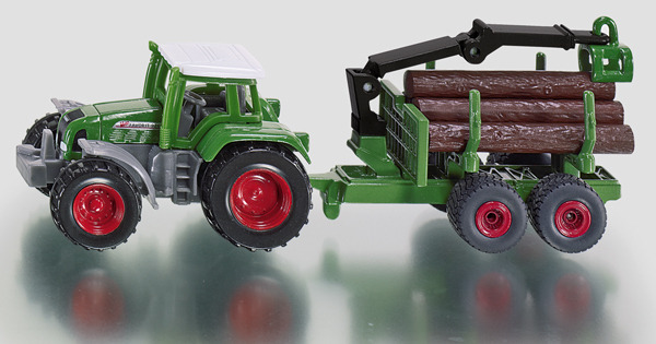 1645 - Tractor with Forestry Trailer