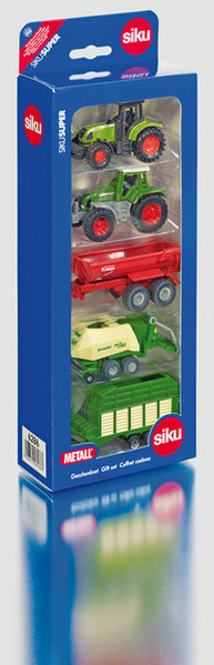 6286 - Assorted Tractor & Trailer Gift Set