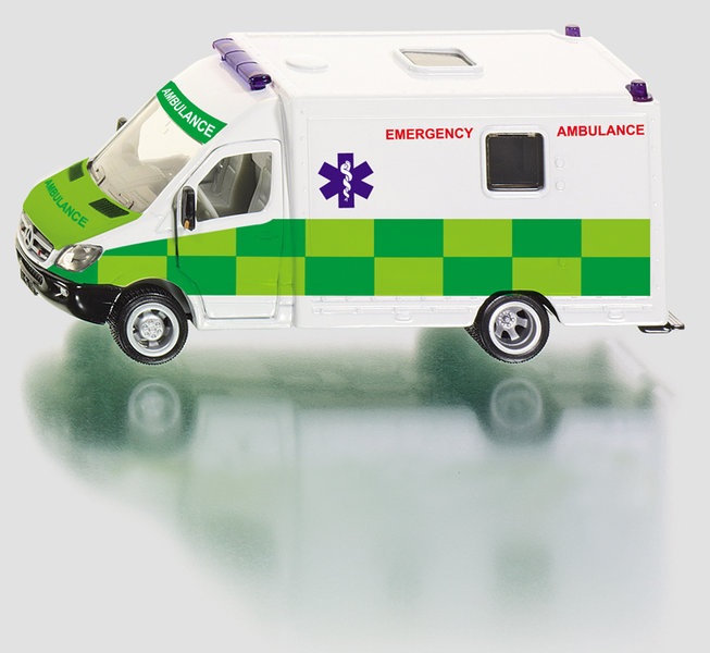 2108GB - British Rescue Ambulance