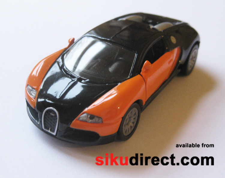 1305g bugatti eb 16 4 veyron siku diecast models from sikudirect mail order specialists. Black Bedroom Furniture Sets. Home Design Ideas