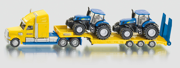 1805 - Truck with New Holland Tractors