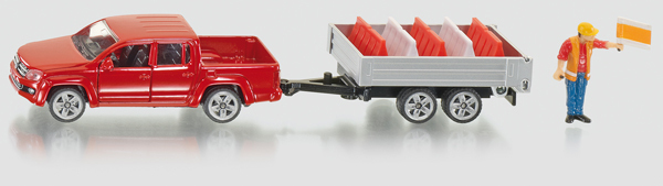 3543 - Pick-Up with Tipping Trailer