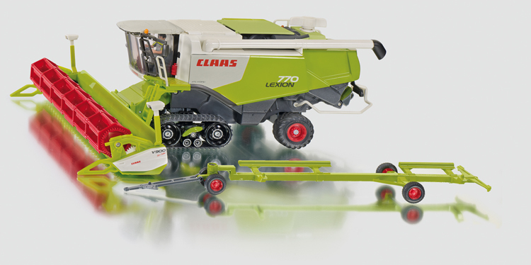 4258 - Claas Lexion 770 Combine on Tracks (1:32)