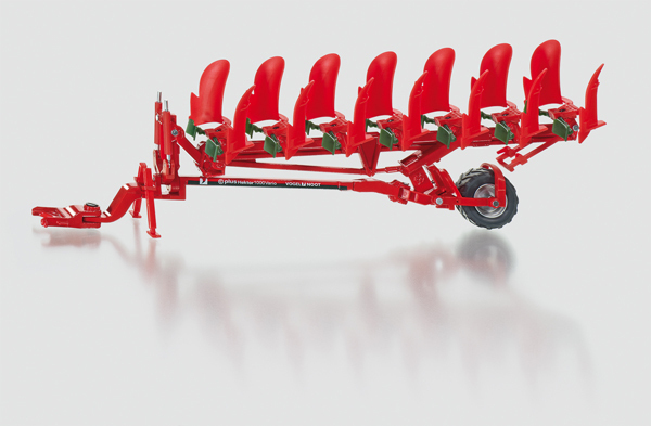 2064 - Vogel & Noot Semi Mounted Rotary Plough