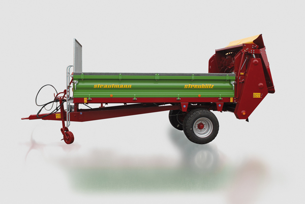 2895 - Strautmann Single - Axle Spreader