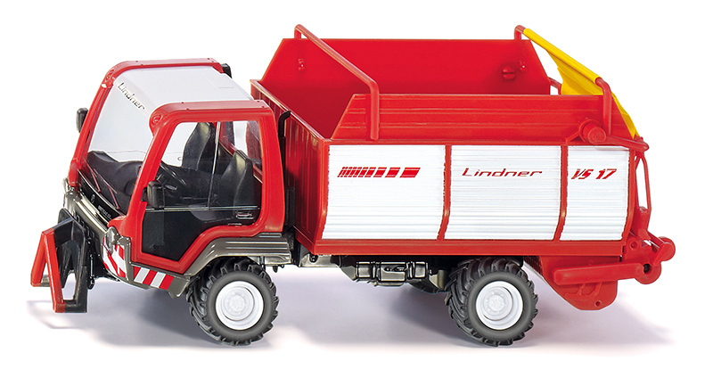 3061 - Linder Unitrac with Forage Trailer