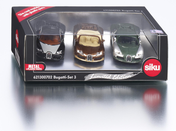 6213C - Bugatti Set 3 (Limited Edition Special Liveries)