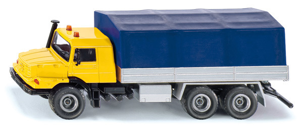 3547 - Mercedes-Benz Zetros with Platform & Canvas Cover