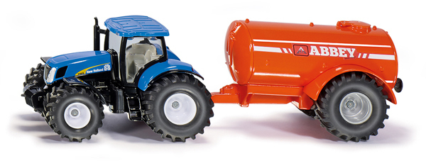 1945 - Tractor with Single - Axle Slurry Tanker (1:50)