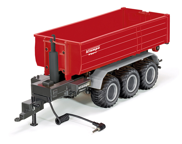 6786 - Krampe 3-Axle Hook Lift Chassis Trailer (1:32)