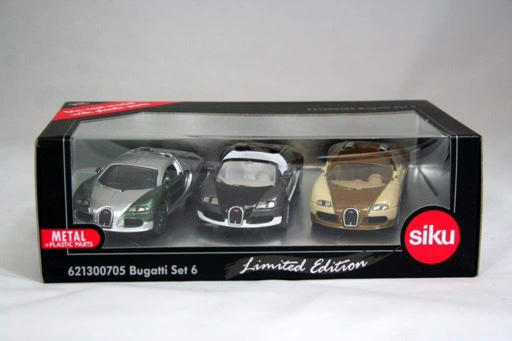 6213F - Bugatti Set 6 (Limited Edition Special Liveries)