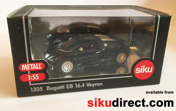1305BL - Bugatti EB 16.4 Veyron Blackline Version Limited Edition