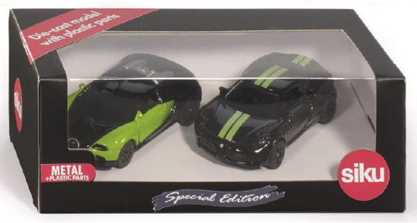 6309 - Special Edition 'Black & Green' Two Cars