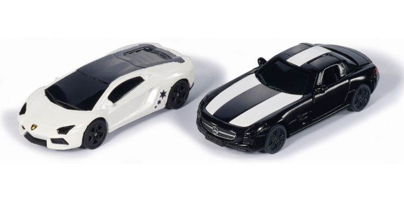 6308 - Special Edition 'Black & White' Two Cars