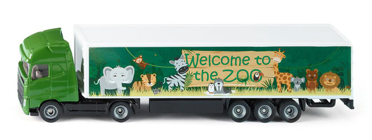 1627a - Truck and Trailer 'Welcome to the Zoo'