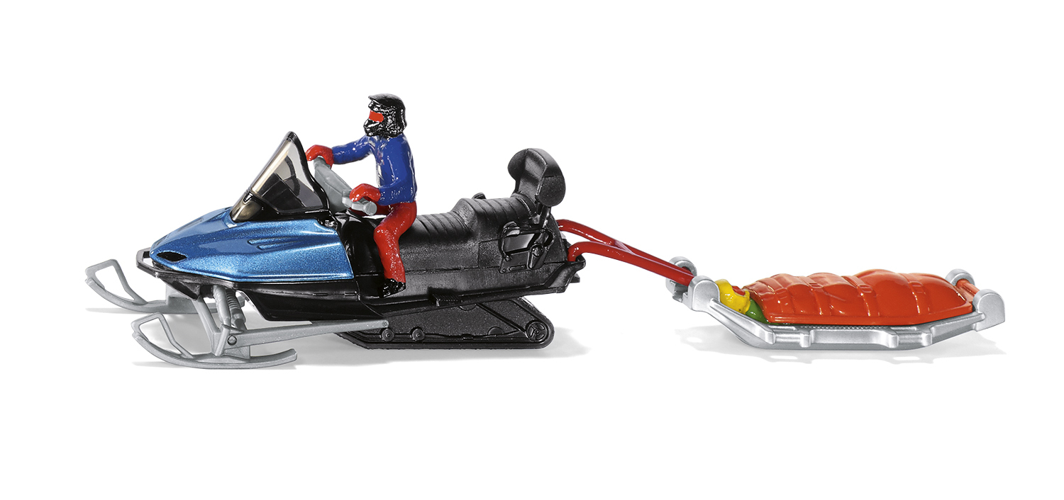 1684 - Snowmobile with Rescue Sledge