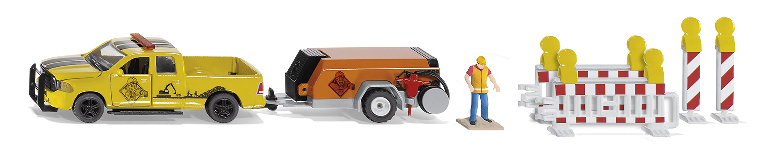 3505 - Ram 1500 with Compressor Trailer (1:50)