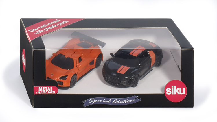 6310 - Special Edition 'Black & Orange' Two Cars