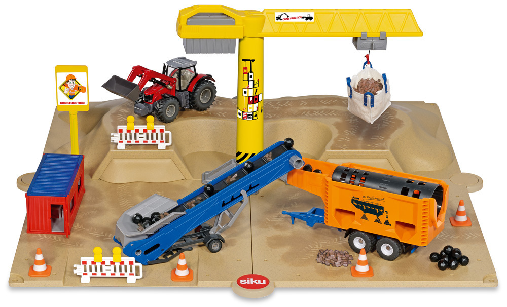 5701 - Siku World Excavator Site with Accessories