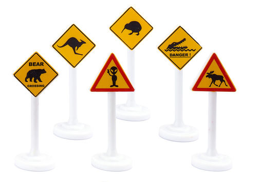 0894 - International Road Signs