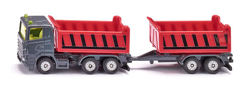 1685 - Truck with Dumper Body and Tipping Trailer