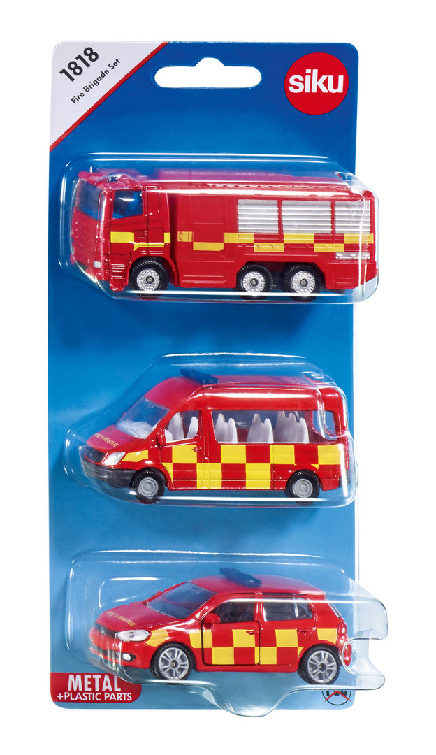 1818 - Fire Brigade Set (3 Pack)