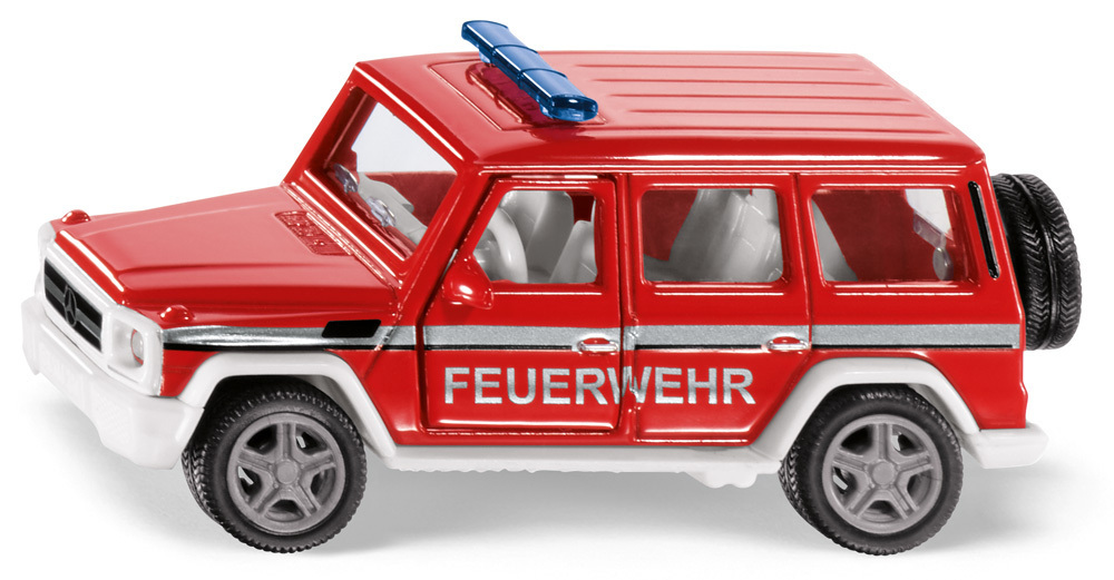 2306 - Mercedes - Fire Command Jeep (1:50)