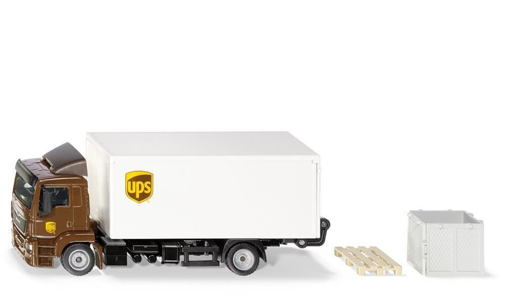 1997 - Man Truck (UPS) with Body and Tail Lift