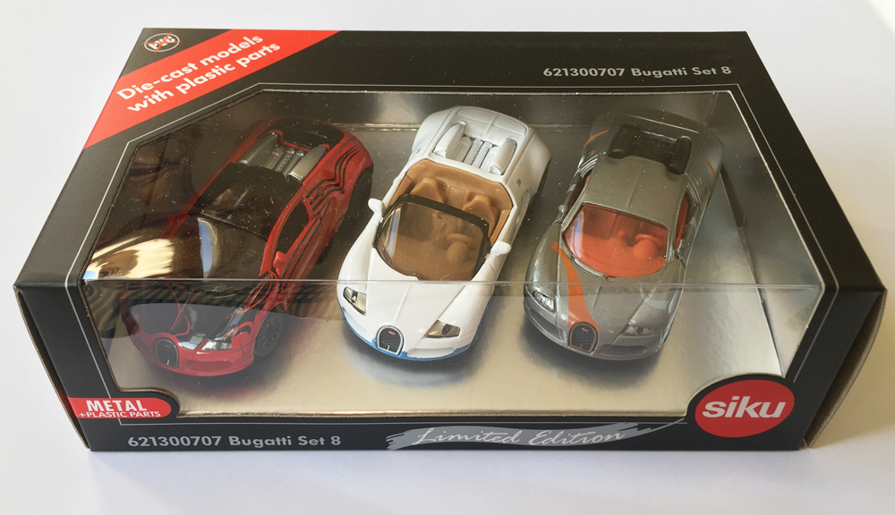 6213H - Bugatti Set 8 (Limited Edition Special Liveries)